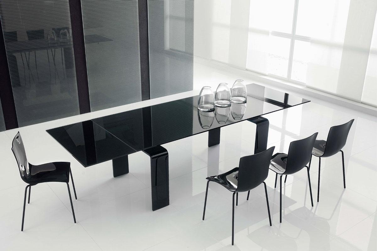 bàn kính đẹp cho phòng ăn