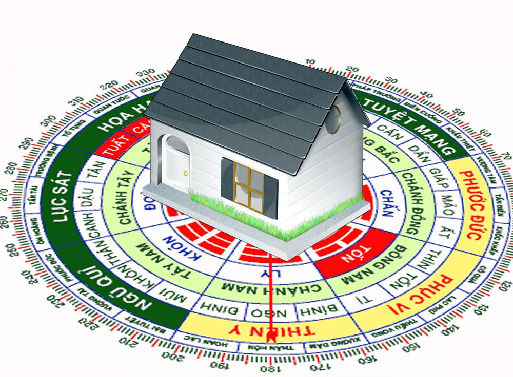 chọn hướng cho nhà chun cư