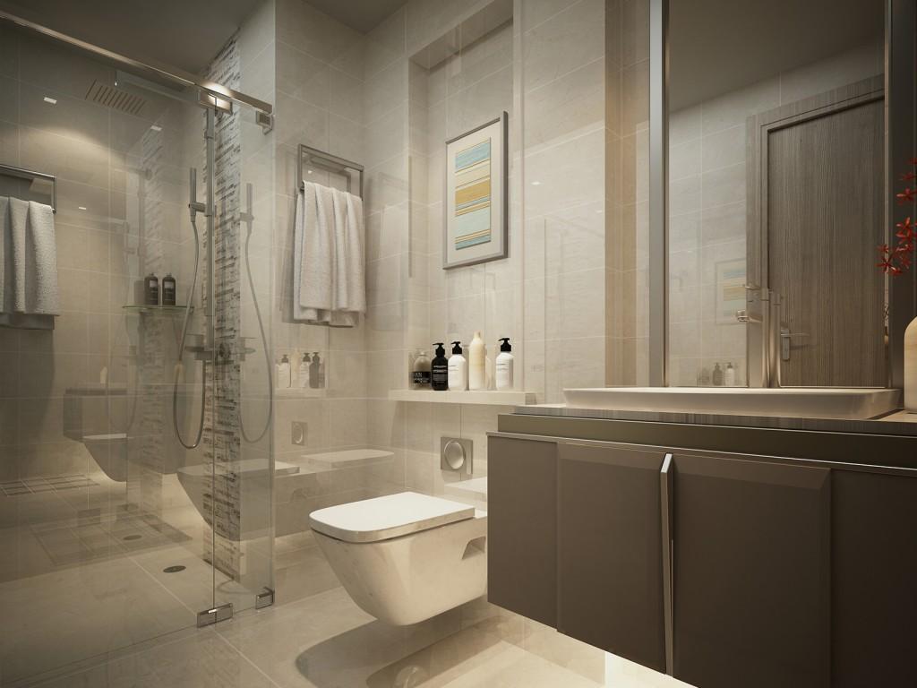 nội thất phòng tắm vinhome golden river 01