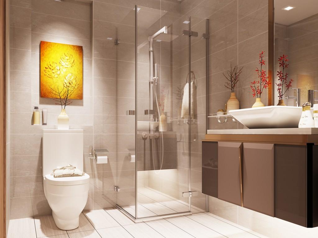 nội thất phòng tắm vinhome golden river 03
