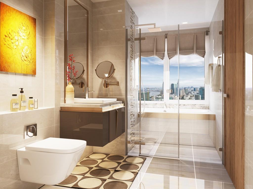 nội thất phòng tắm vinhome golden river 05