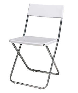 ghế gấp inox dùng trong văn phòng