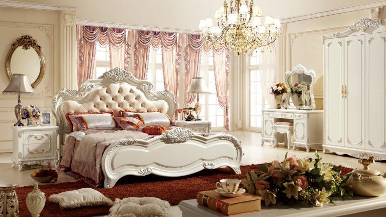 giường châu âu cổ điển
