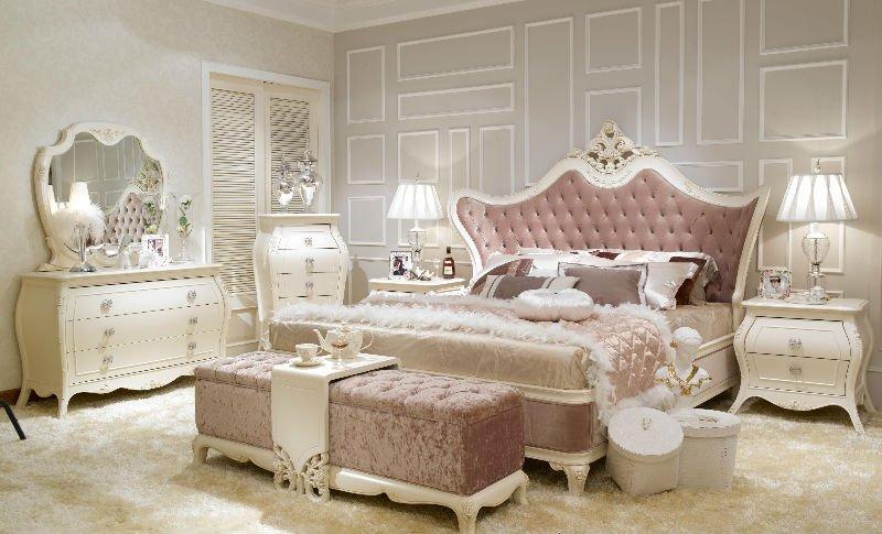 phòng ngủ phong cách châu âu hiện đại