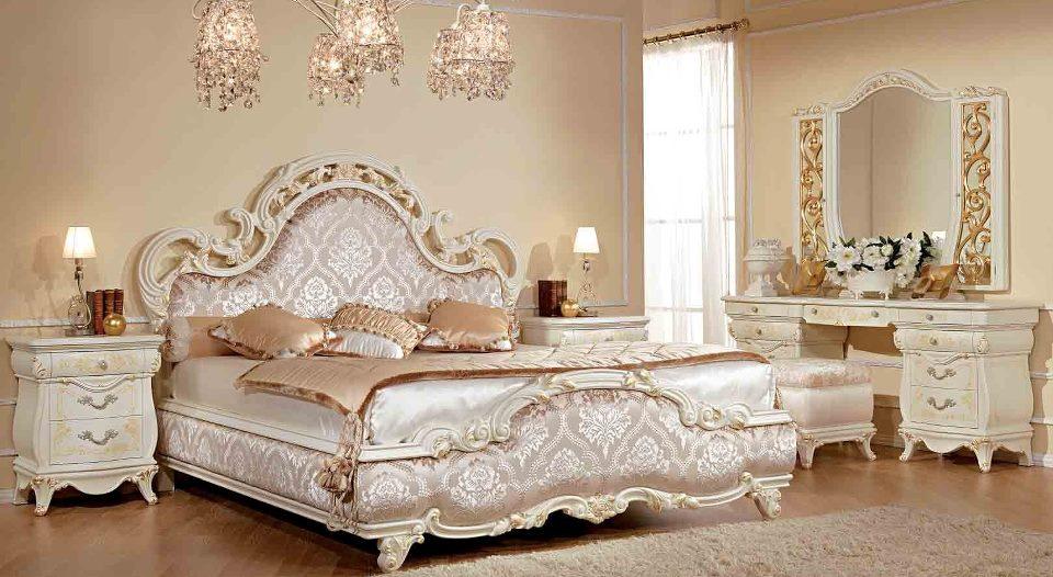 phòng ngủ châu âu cổ điển hiện đại