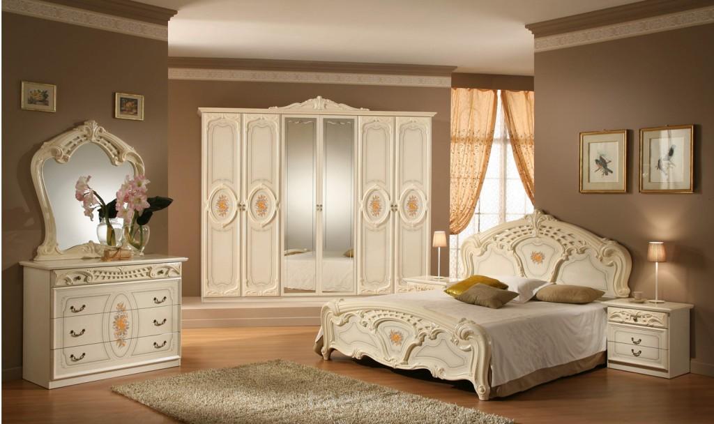 phòng ngủ châu âu cổ điển