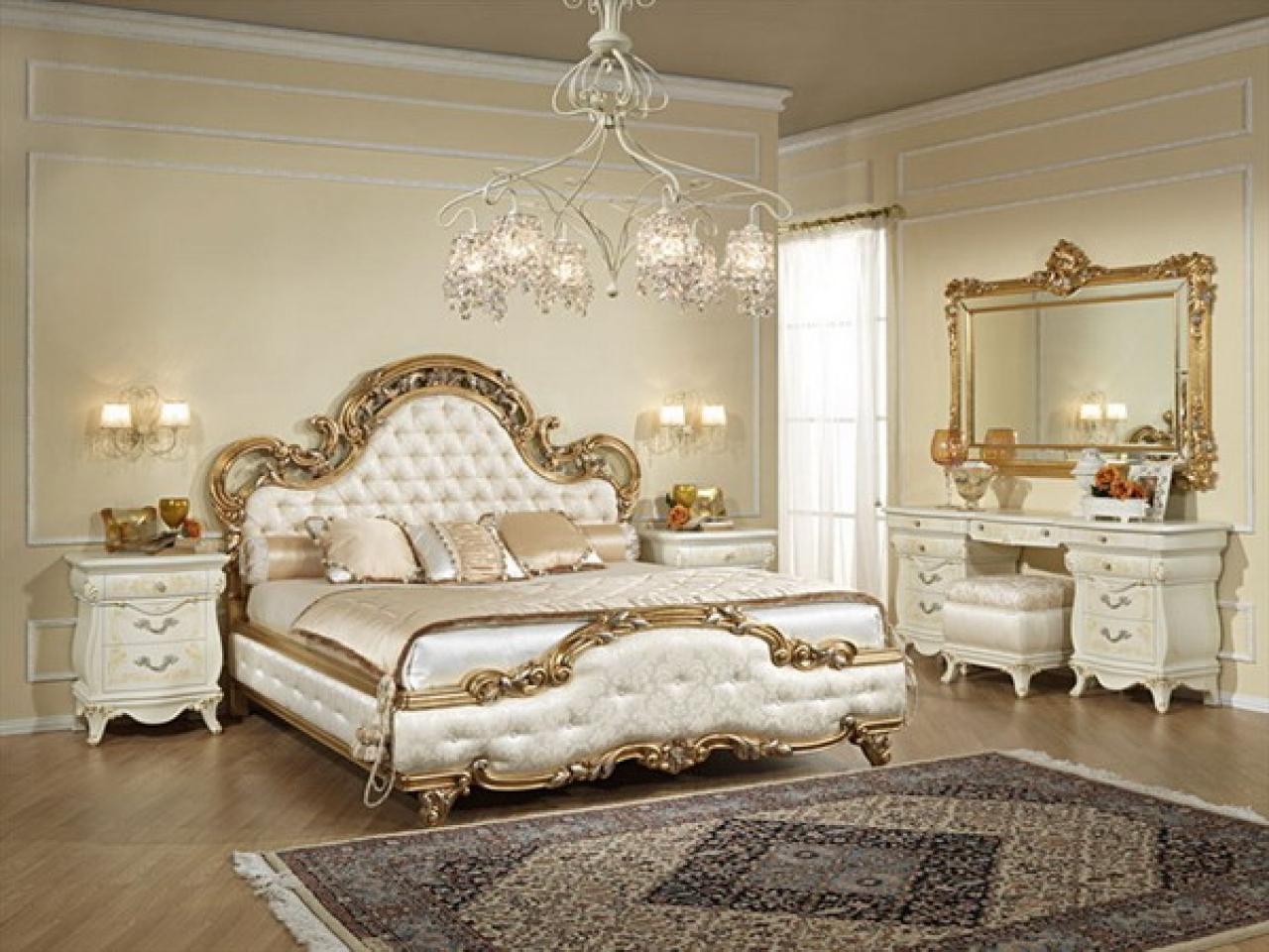 phòng ngủ châu âu cổ điển mới nhất