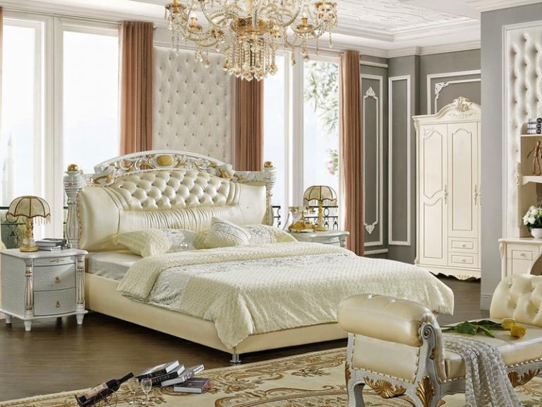 giường ngủ châu âu hiện đại