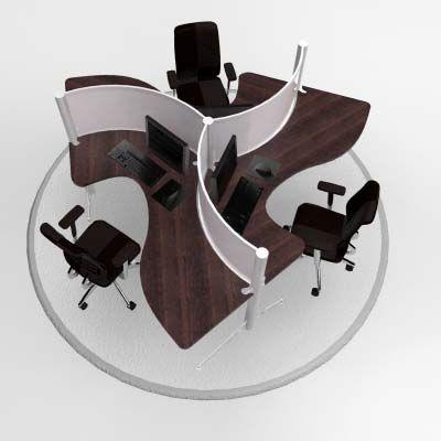 modul bàn làm việc văn phòng hiện đại 06
