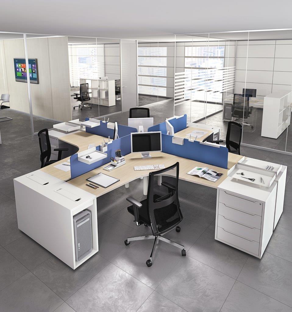 modul bàn vách ngăn văn phòng