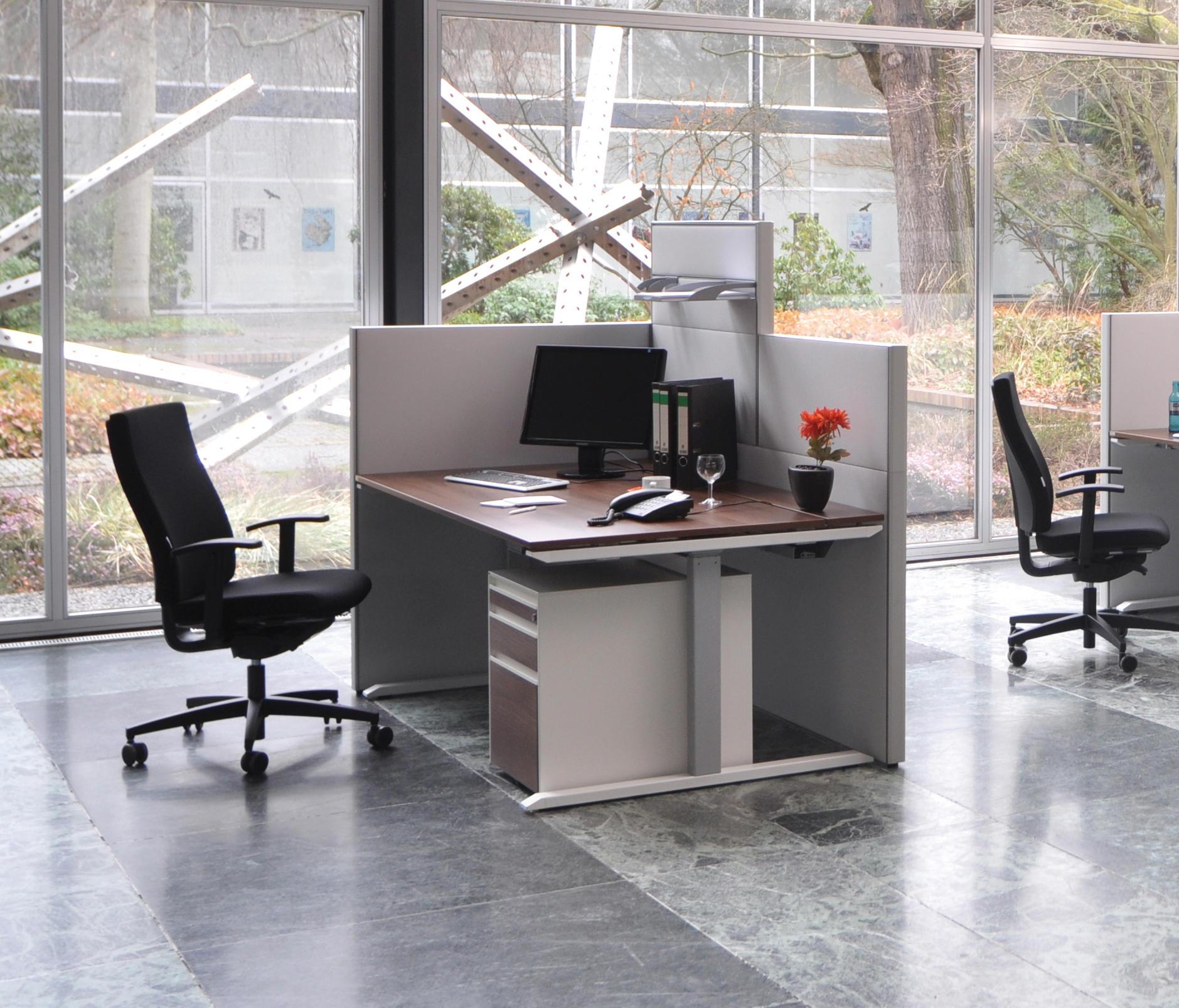 modul bàn vách ngăn văn phòng hiện đại