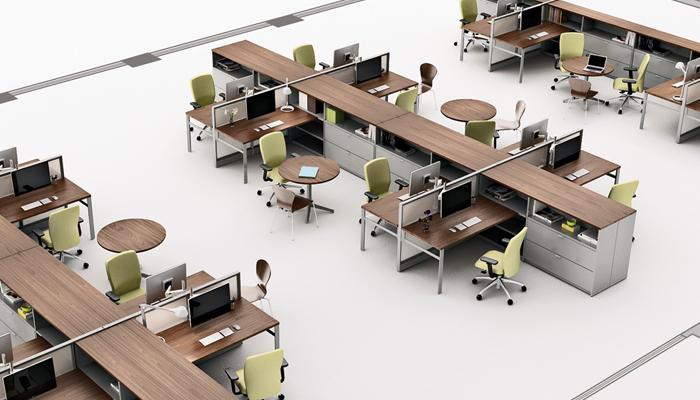 modul vách ngăn văn phòng hiện đại