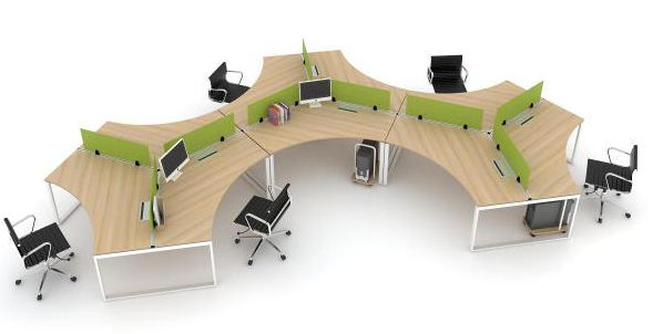 ghế và modul bàn văn phòng
