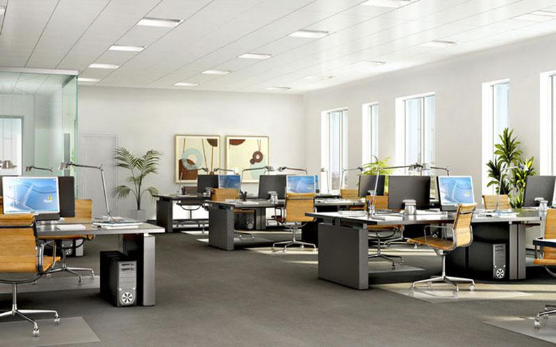 Một số lưu ý trong bố trí nội thất cho không gian văn phòng