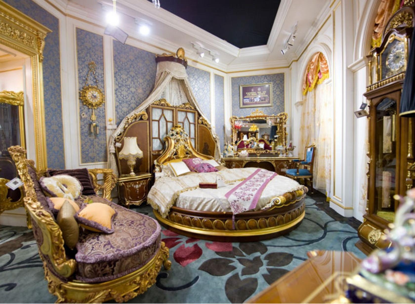 Giường ngủ phong cách châu âu cổ điển