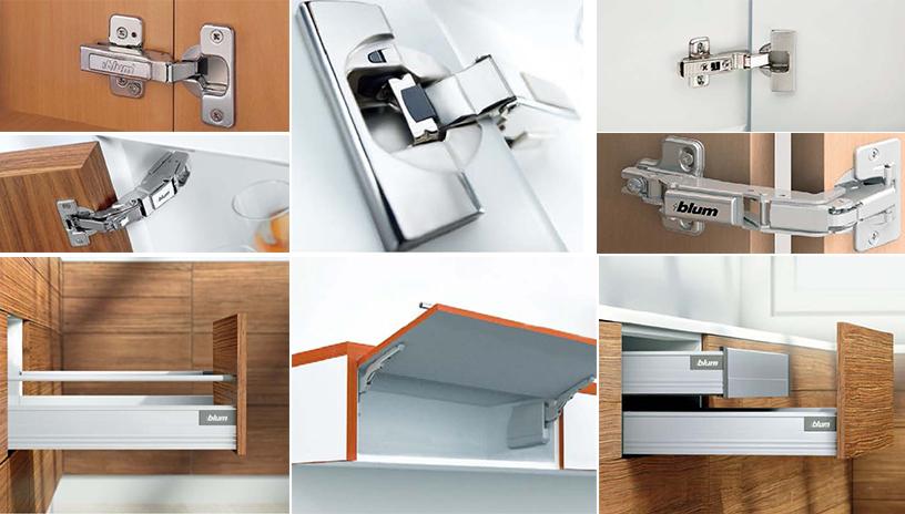 Các phụ kiện cơ bản cho thiết kế nội thất nhà bếp hiện đại