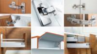 Các phụ kiện cơ bản cho tủ bếp hiện đại