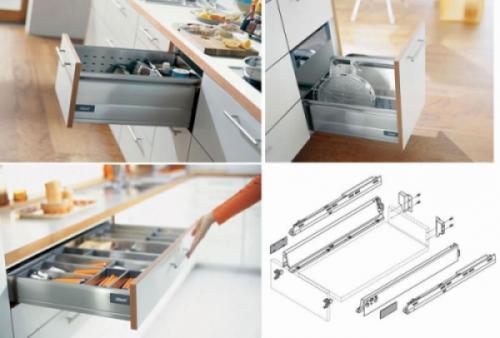 Vai trò của phụ kiện tủ bếp