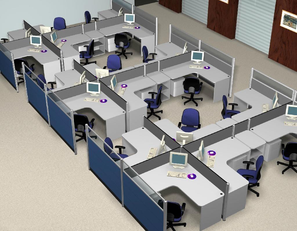 Mẫu vách ngăn đẹp trong thiết kế nội thất văn phòng