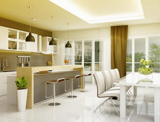 nội thất căn hộ lan phuong phòng bếp