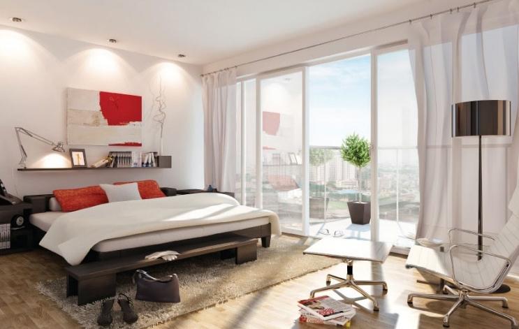 nội thất căn hộ lan phuong phòng ngủ
