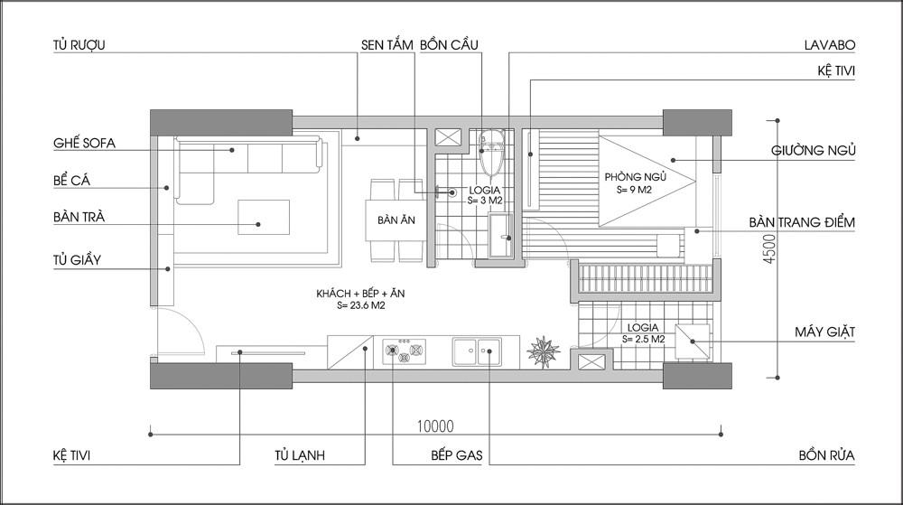 thiết kế nội thất chung hà nội