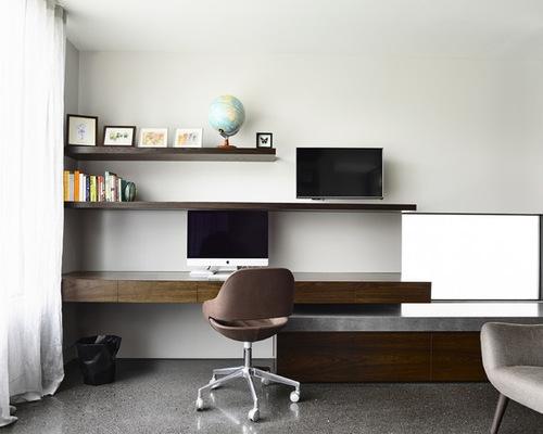 thiết kế nội thất văn phòng tại nhà 2