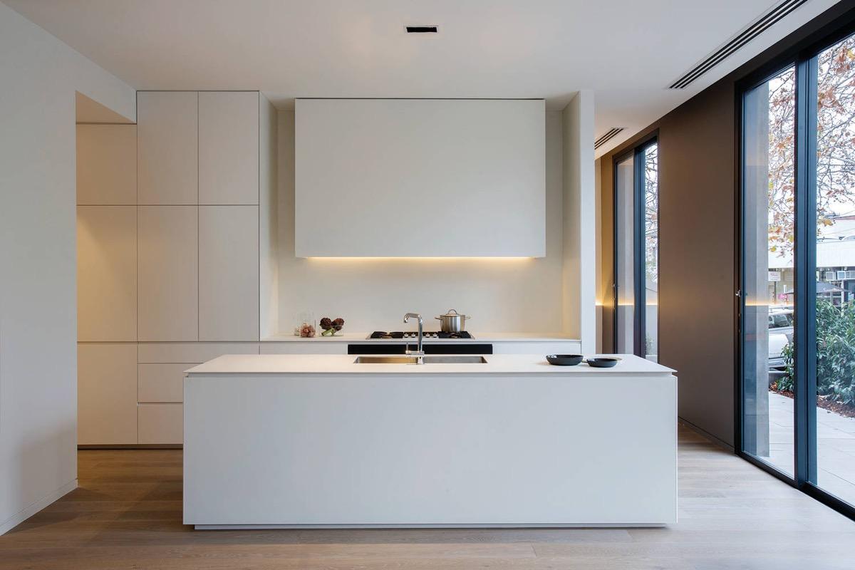 thiết kế nội thất phòng ăn đầy ánh sáng