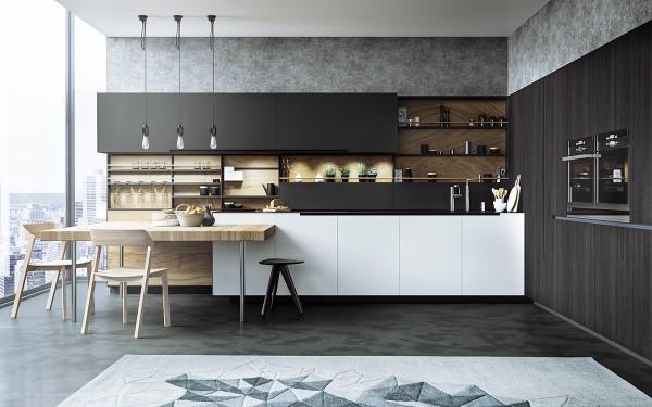 thiết kế nội thất phòng ăn thoáng mát