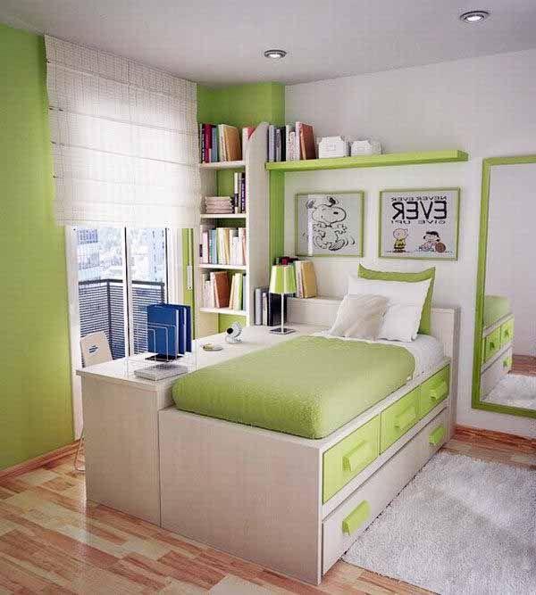 bố trí thiết kế phòng ngủ nhỏ