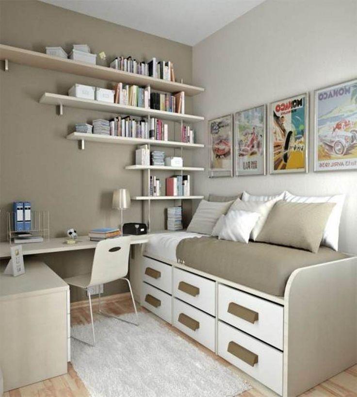 thiết kế phòng ngủ diện tích bé