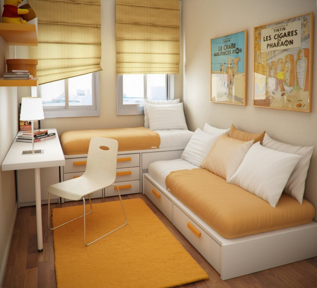 diện tích phòng ngủ nhỏ