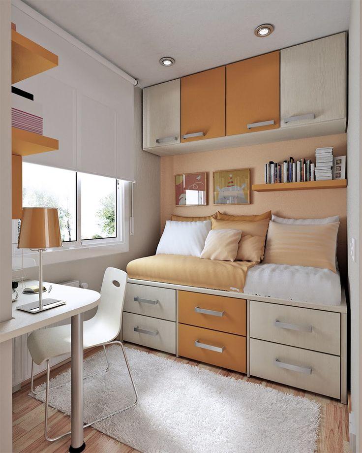 bố trí phòng ngủ diện tích nhỏ đáng yêu