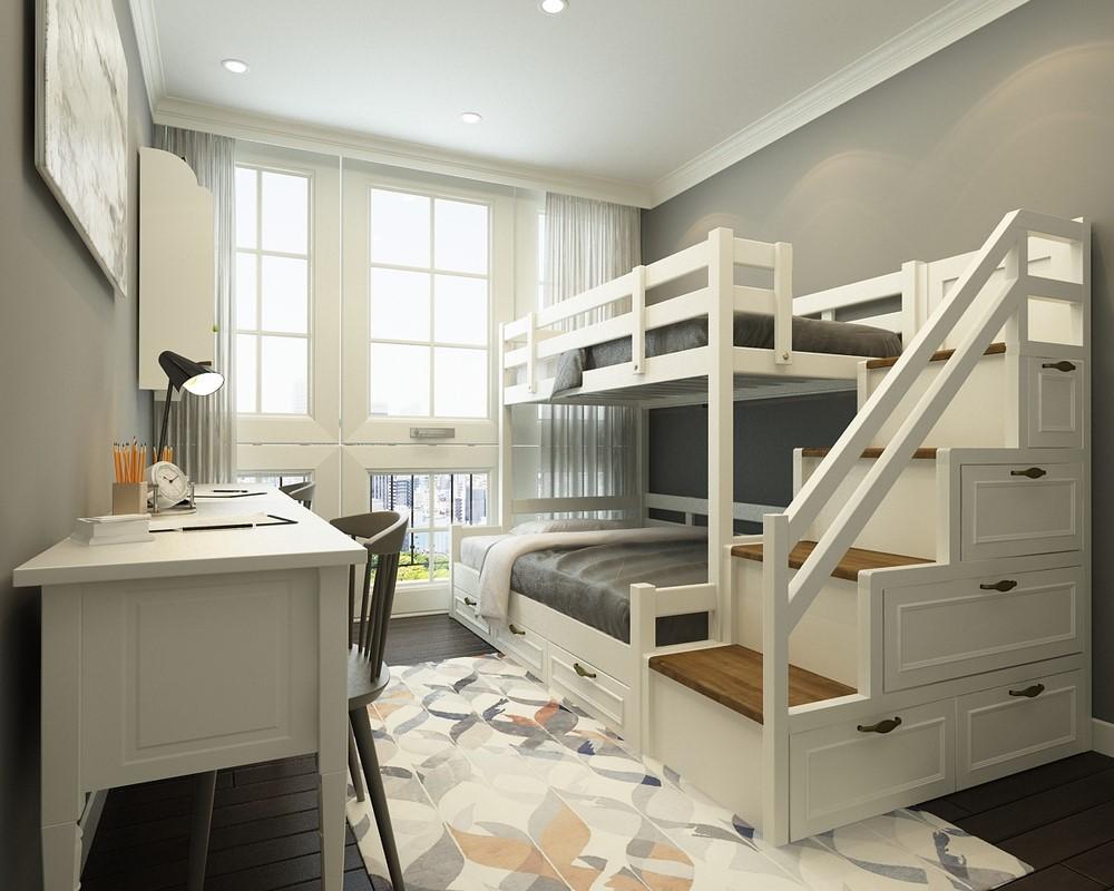 bố trí phòng ngủ nhỏ hợp lý