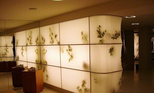 trần xuyên sáng showroom