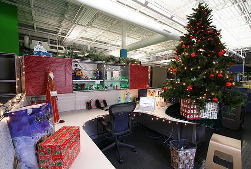 trang trí nội thất văn phòng noel 7