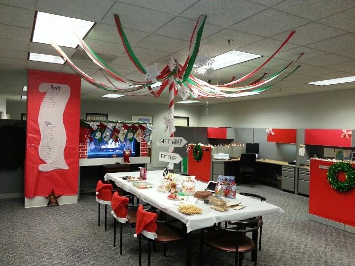 trang trí nội thất văn phòng noel 6