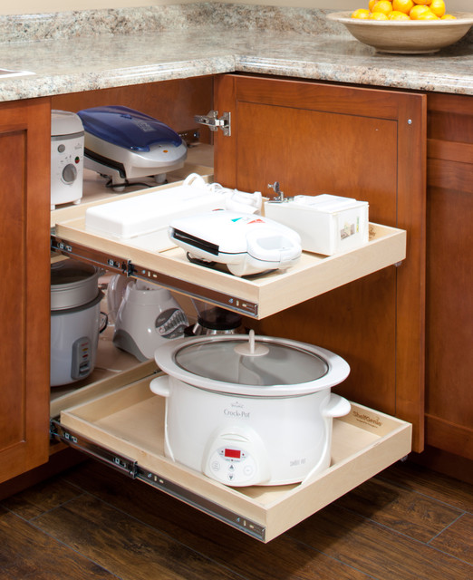 giải pháp cho goc tủ bếp