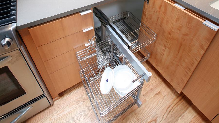 phụ kiện tủ bếp góc